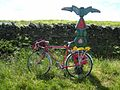National Cycle Network milepost on the Stanegate - geograph.org.uk - 847015.jpg