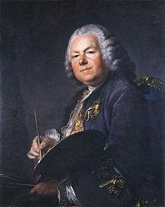 Nattier par Louis Tocqué, 1720;Musée de Stockholm
