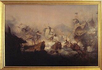 1676 in France - Battle of Augusta