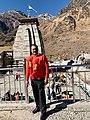 Naveen Kumar jindal at Kedarnath.jpg
