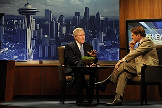 KING-TV - A morning news interview with the Secretary of the United States Navy Ray Mabus.