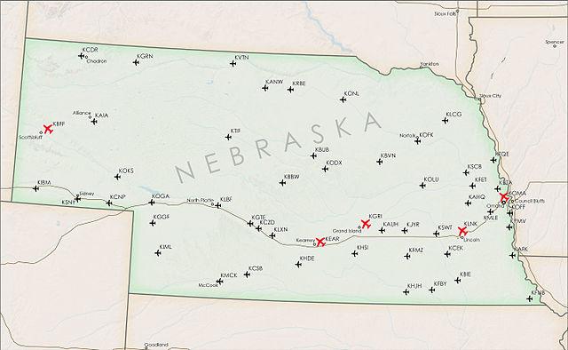 List Of Airports In Nebraska Wikiwand