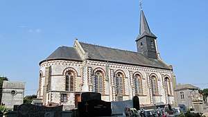 Nempont-Saint-Firmin - The church of Nempont-Saint-Firmin