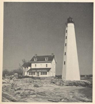 New London Harbor Light - Image: New London Harbor Lighthouse