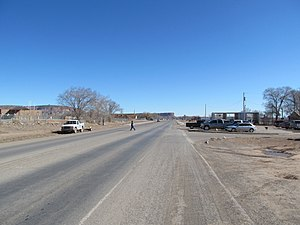 Thoreau, New Mexico - New Mexico State Road 371