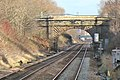 New Street bridge, Lea Green railway station (geograph 3818926).jpg