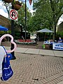 New Trier Democrats straw poll at Wilmette sidewalk sale 20170722 135550.jpg