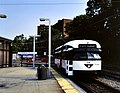 Newark City Subway streetcar at Franklin Avenue, September 1999.jpg