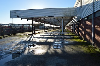Railway stations not officially closed with no services in the United Kingdom - Image: Newhaven Marine Station January 2014