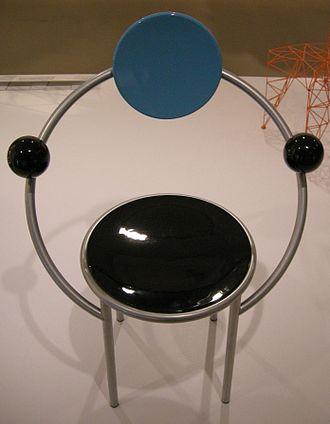 Italian design - A chair by designer Michele de Lucchi, made in 1983.