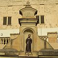 Niche of St Francis (located near St Francis School), Victoria, Gozo.jpg