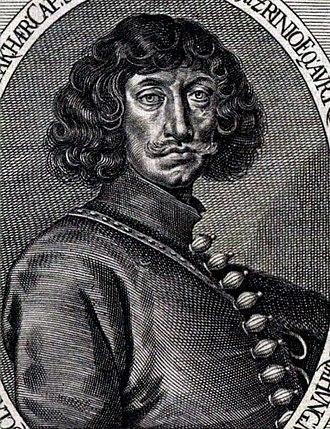 Miklós Zrínyi - Engraving of Zrínyi