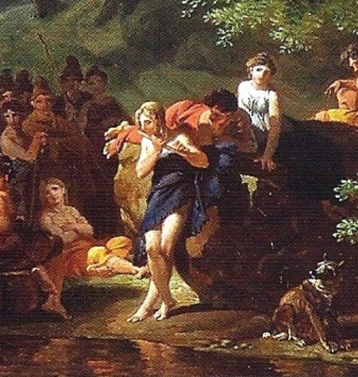 Nicolas-Antoine Taunay - Apollo visiting Admetus, cropped.jpeg