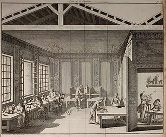 Hard-paste porcelain - French porcelain factory, 1771.