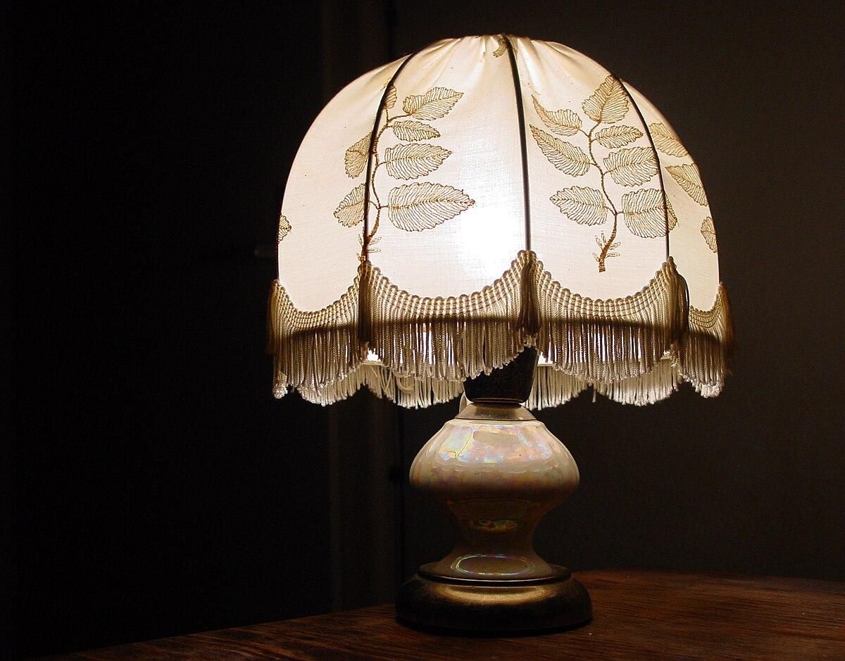 Lampenschirm Wikipedia