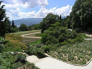 Никитский ботанический сад Википедия Никитский ботанический сад