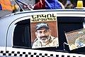 Nikol Pashinyan poster on car.jpg