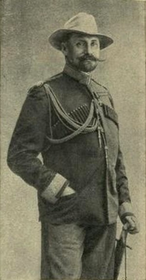 Nikolay Leontiev - Count Abai of the Ethiopian empire