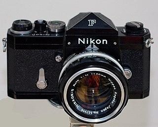 Nikon F Camera model