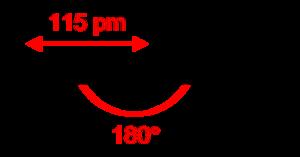 Nitronium ion - Image: Nitronium 2D dimensions