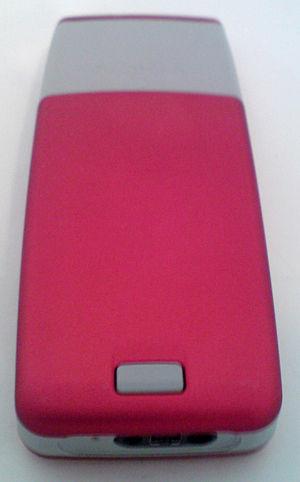 Nokia 2310 - Image: Nokia 2310 back