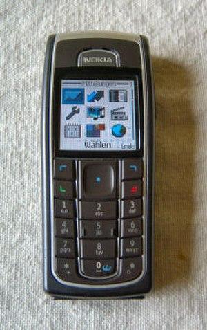 Nokia 6230 - A black Nokia 6230