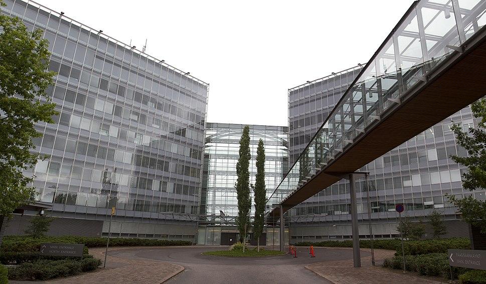 Nokia headquarters main entrance