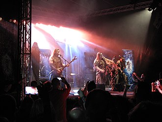 Ukrainian metal - Nokturnal Mortum at Hell Fast Attack festival, 2015