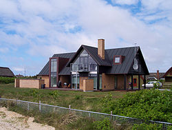 A North European single family house.