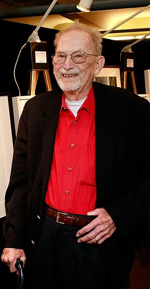 Clifford the Big Red Dog - Norman Bridwell, the creator and author of the Clifford the Big Red Dog book series, in 2011.