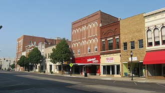 Henderson, Kentucky - North Main Street