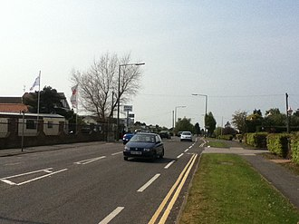 Humberston - Image: North Sea Lane, Humberston
