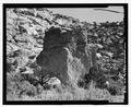 North side, looking south - Foothold Pueblito, Palluche Canyon, Dulce, Rio Arriba County, NM HABS NM-183-3.tif