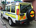 Northern Constabulary - Land Rover Discovery at Dingwall Scotland (1).jpg