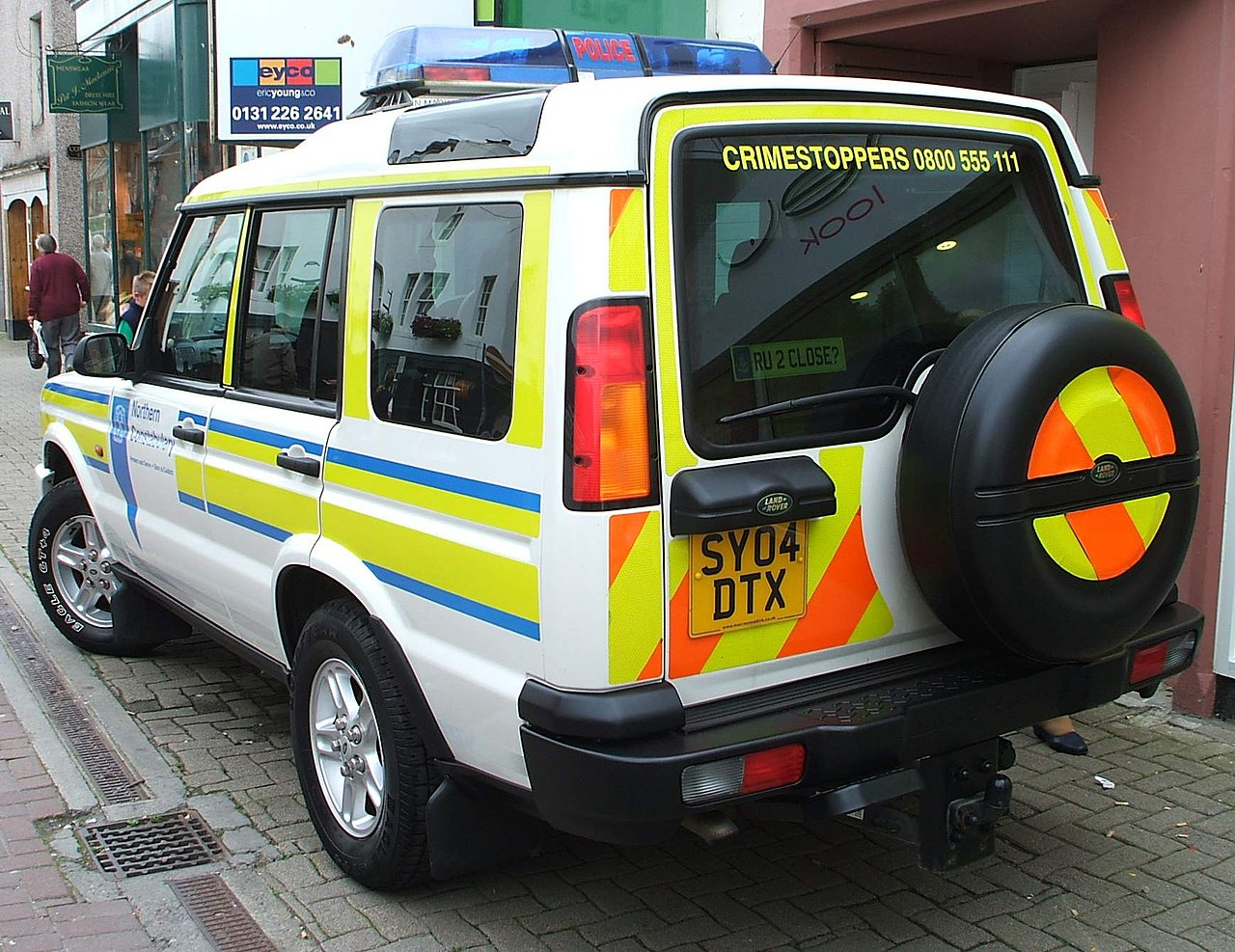 file northern constabulary land rover discovery at. Black Bedroom Furniture Sets. Home Design Ideas