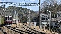 Noseden 7200 test run at Yamashita Station.jpg
