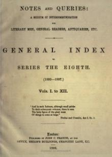 Notes and Queries - Series 8 - General Index.djvu