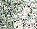Novoaleksandrovka - Sinegorsk railway map 1947.jpg