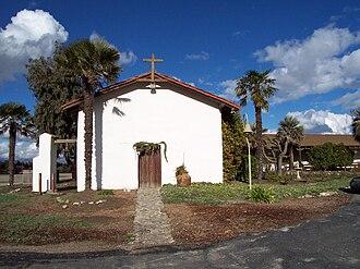 Monterey County, California - Image: Nuestra Senora del la Soledad chapel