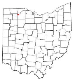 Location of Grand Rapids, Ohio