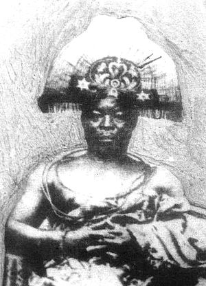 Benin Expedition of 1897 - Ovonramwen, Oba of Benin