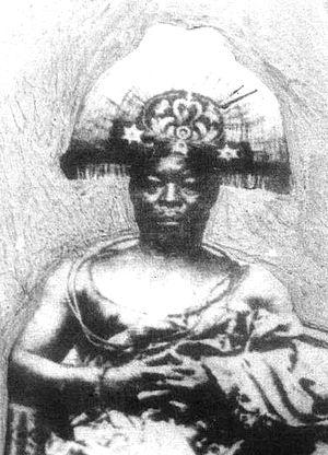 Benin Expedition of 1897 - Ovonramwen, Oba of Benin