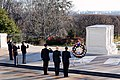 Obama and Biden lay wreath at Tomb of the Unknowns.jpg