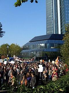 OccupyFrankfurt 22 October 2011 4