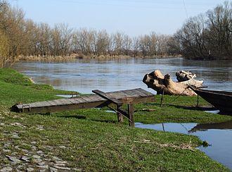 Zdzieszowice - Image: Oder in Deschowitz