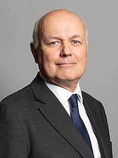 Iain Duncan Smith Former Leader of the Conservative Party, MP for Chingford and Woodford Green