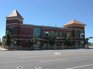 Ogden Intermodal Transit Center - Image: Ogden Intermodal Transit Center building