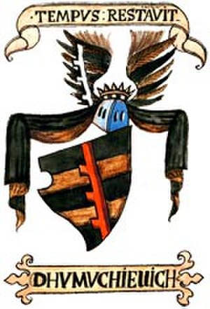 "Hrelja - Ohmućević coat of arms according to the ""Illyrian Armorials"""