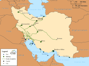 National Iranian Oil Company - Iran - Oil infrastructure