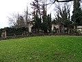 Olšanské hřbitovy, hřbitov I, roh.jpg